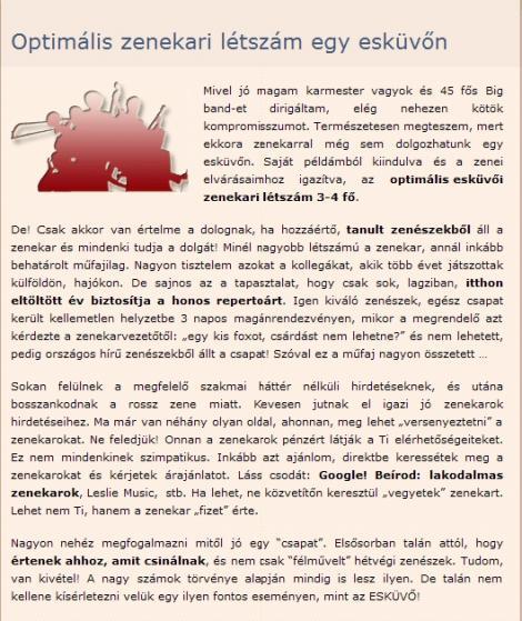 8ab5cc3376 A Veszprém megyei Napló 2010.január 16-i számában találtuk az alábbi  érdekes, az esküvőt tervező fiatalok számára nagyon hasznos tudnivalókat  tartalmazó ...